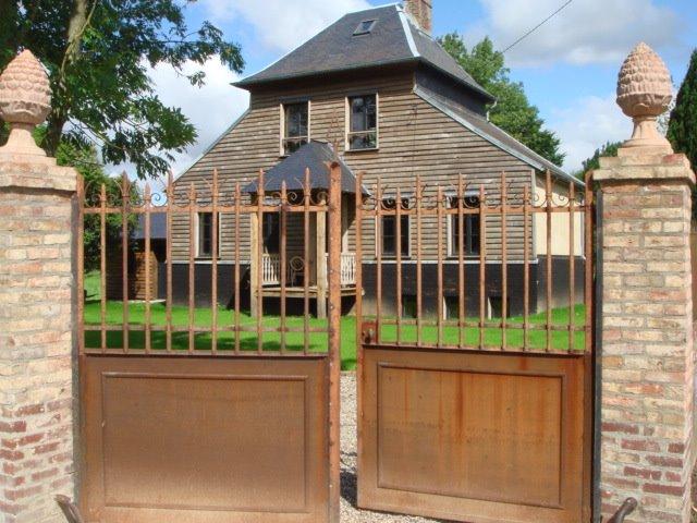 Maison en bois  Franck Delmarcelle
