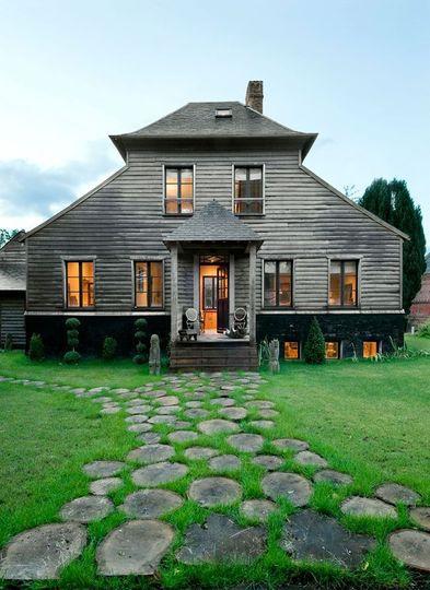 Maison en bois franck delmarcelle for Demarche construction maison