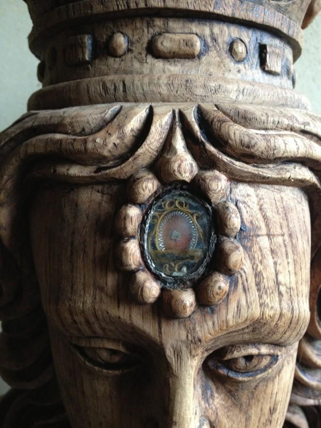 Saint louis Buste reliquaire XVIIe