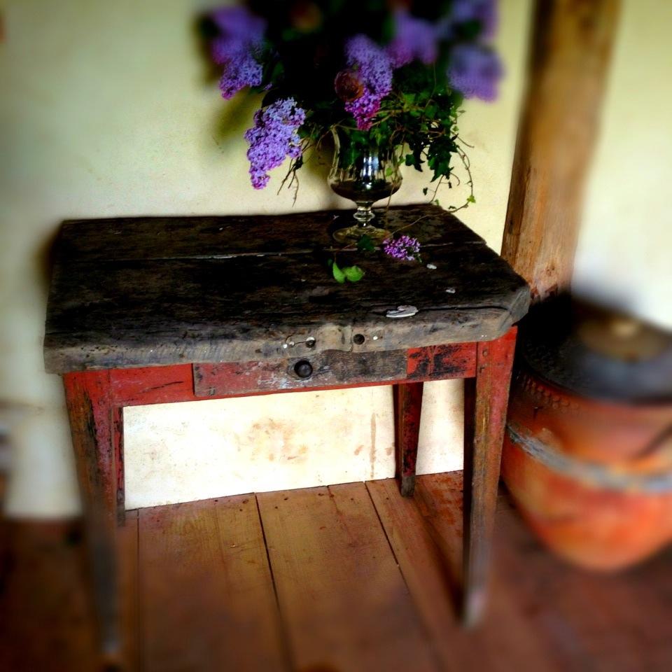 Table rustique la su doise franck delmarcelle - Table rustique ...