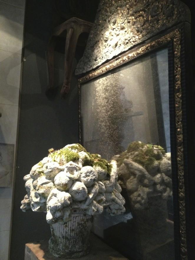bouquet en pierre