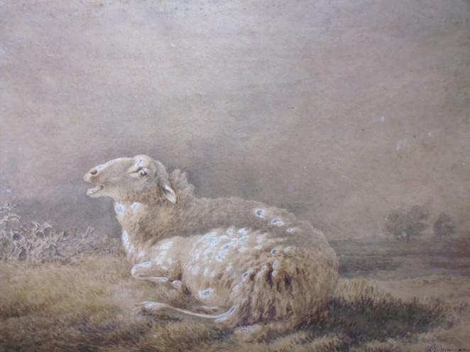 Aquarelle Balthasar-Paul Ommeganck