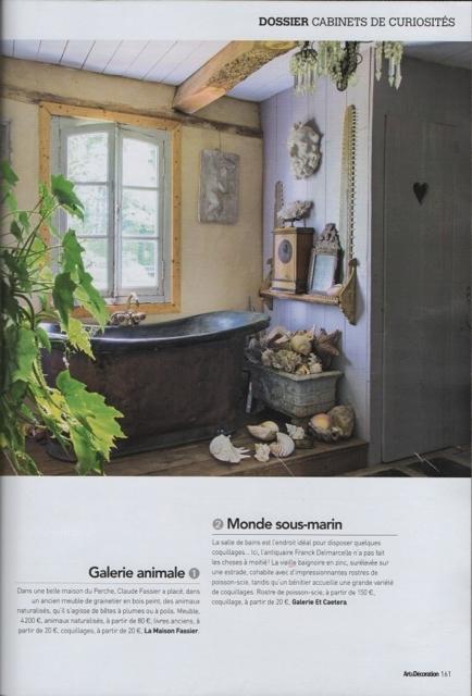 Blog d coration antiquit s meubles et objets franck for Art et decoration fevrier 2014