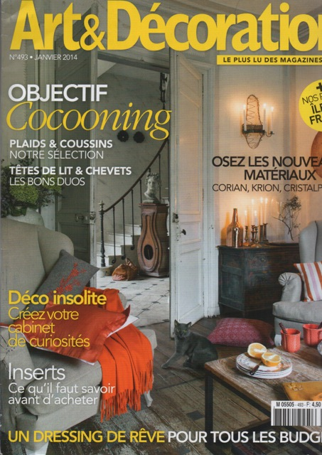 art et décoration  01/2014
