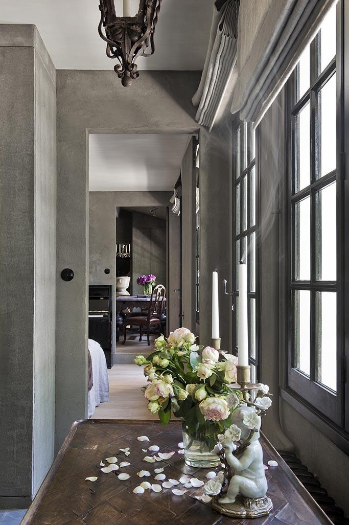D coration fa on cote belge franck delmarcelle for Decoration maison flamande