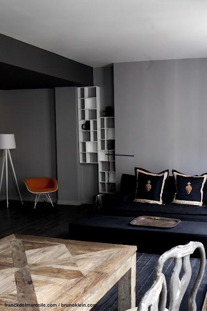 r novation et d coration d 39 un appartement parisien franck delmarcelle. Black Bedroom Furniture Sets. Home Design Ideas